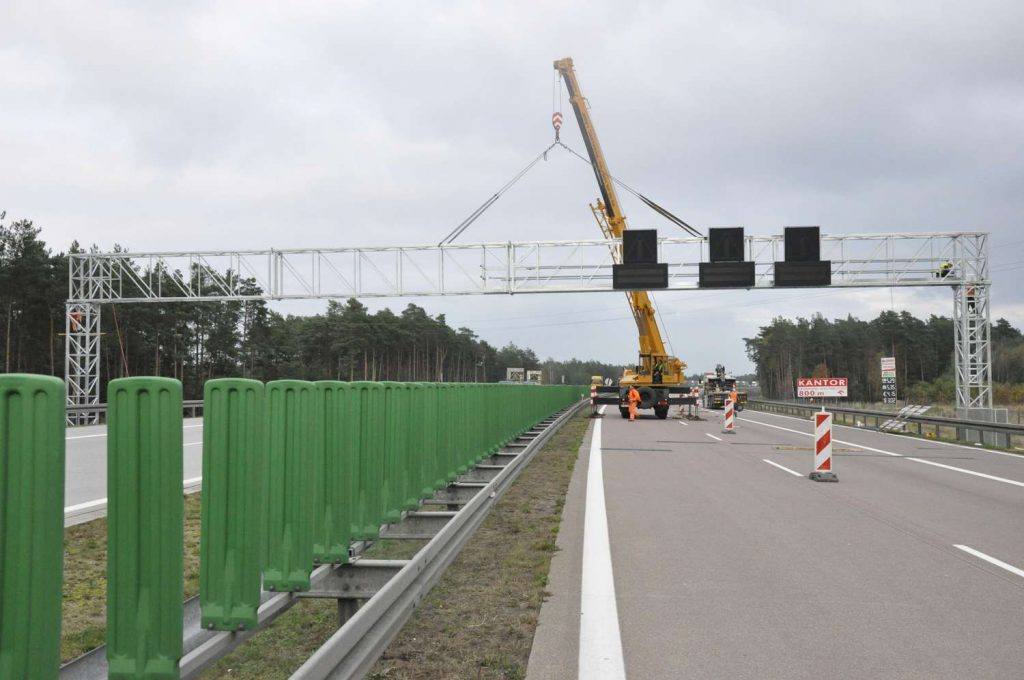 Budowa stacji preselekcyjnego ważenia A2
