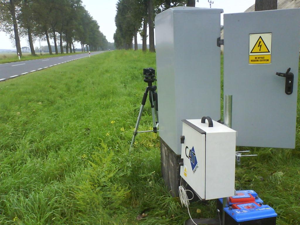 Przenośna radarowa stacja pomiaru ruchu