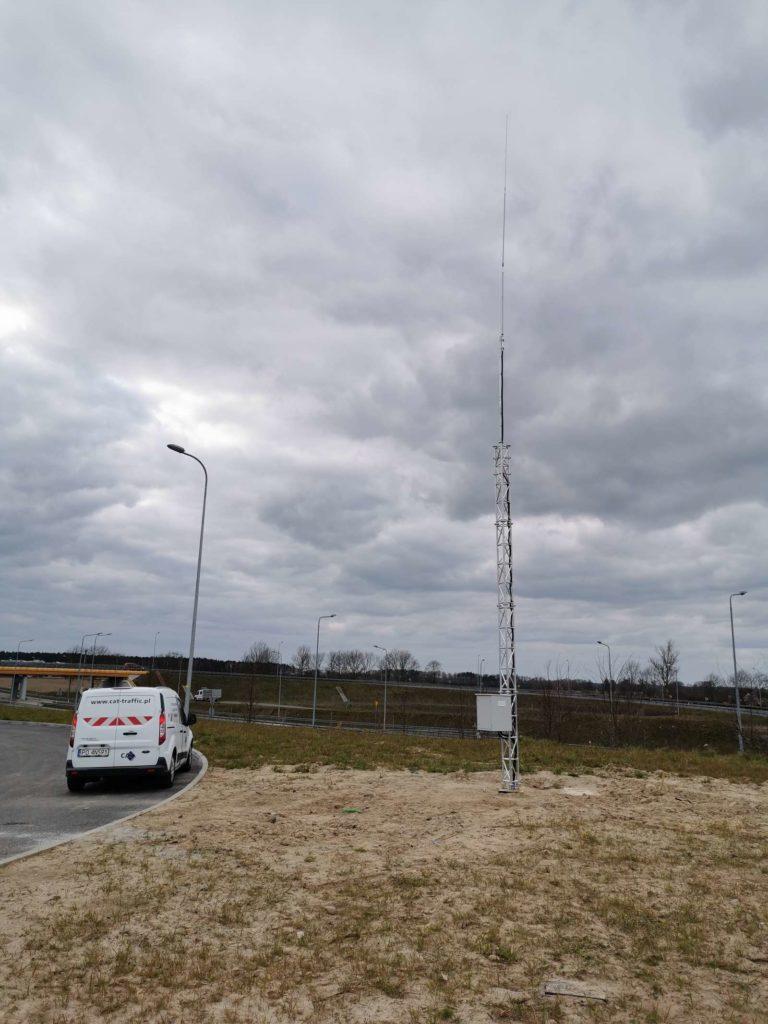 Montaż systemów CB Komunicator na drogach ekspresowych