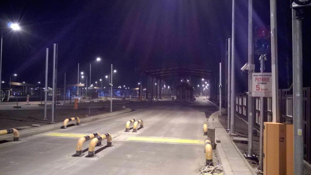 Dostawa i instalacja wag wolnoprzejazdowych przejście graniczne Połowce