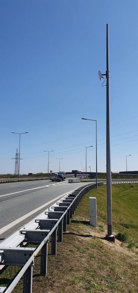 Dostawa i montaż radarowych stacji pomiaru ruchu